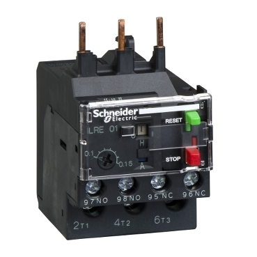 LRE08 - EasyPact TVS differential thermal overload relay 2.5...4 A - class 10A, Schneider Electric