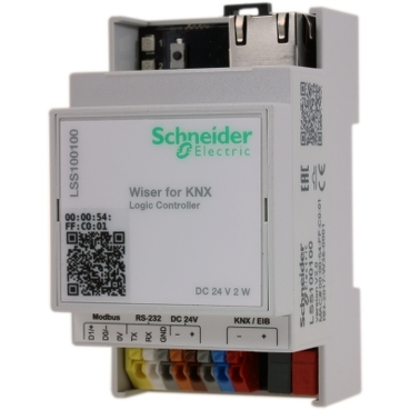 LSS100100 - Wiser for KNX logic controller, Schneider Electric