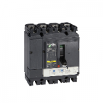 LV430321 - circuit breaker Compact NSX160B - TMD - 125 A - 4 poles 3d, Schneider Electric