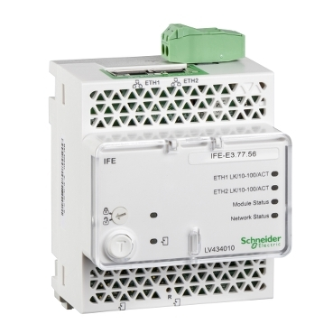 LV434011 - Modul IFE - Modbus TCP - Ethernet IP & MBSL, Schneider Electric
