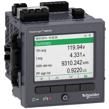 METSEPM8240 - PowerLogic PM8000 - PM8240 Panel mount meter - intermediate metering, Schneider Electric