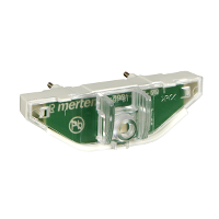 MTN3901-0006 - LED lighting module for switches/push-buttons, 100-230 V, red, Schneider Electric