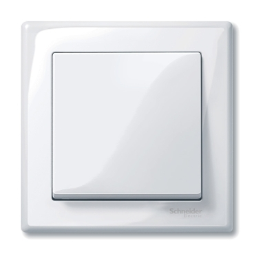 MTN478125 - M-Smart frame, 1-gang, active white, glossy, Schneider Electric
