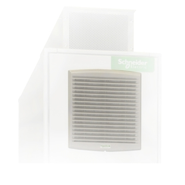 NSYCAF223 - Standard filter G2 for outlet grille or fan cut-out 223x223mm ext dim 268x248mm, Schneider Electric (multiplu comanda: 5 buc)