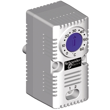 NSYCCOTHO - ClimaSys CC - simple thermostat 250V - range of temperature 0..60?C - NO - ?C, Schneider Electric