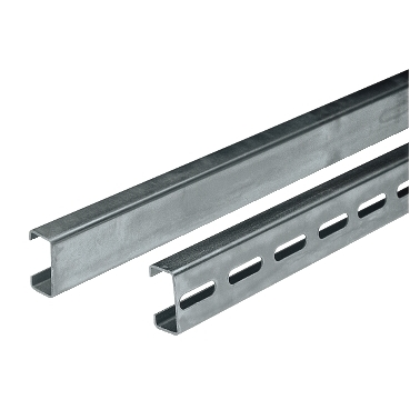 NSYCNT20 - Symmetric C-shaped rails drilled 21x11x10. Length 2000mm. Supply: 20 rails 2m., Schneider Electric