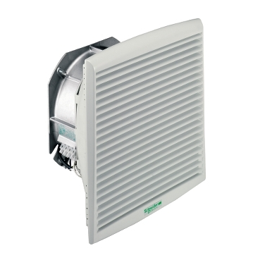 NSYCVF850M400PF - ClimaSys forced vent. IP54, 850m3/h, 400V, with outlet grille and filter G2, Schneider Electric