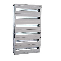 NSYDLM48P - Modular chassis DLM type for SPACIAL WM enclosure, 48 modules, H600xW400mm., Schneider Electric