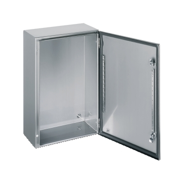 NSYS3X4420 - SPACIAL S3X stainless 304L, Scotch Britei finish, H400xW400xD200 mm., Schneider Electric