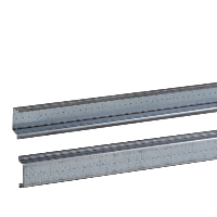 NSYSDR200BD - One symmetric mounting rail perforated 35x7.2 mm L2000 mm type B Supply: 20, Schneider Electric
