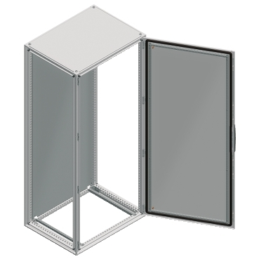 NSYSF20440 - Spacial SF enclosure without mounting plate - assembled - 2000x400x400 mm, Schneider Electric