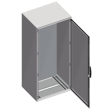 NSYSM16640P - Spacial SM compact enclosure with mounting plate - 1600x600x400 mm, Schneider Electric