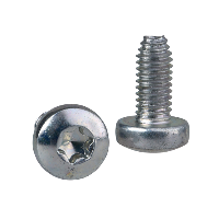 NSYST30M6S - Self-tapping Torx screw M6x12mm + captive washer. Supply: 100 units, Schneider Electric (multiplu comanda: 100 buc)