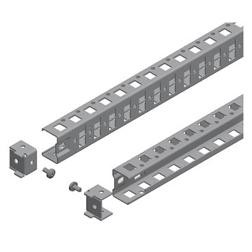 NSYSUCR4080 - Spacial SF/SM universal cross rails - 40 mm, Schneider Electric