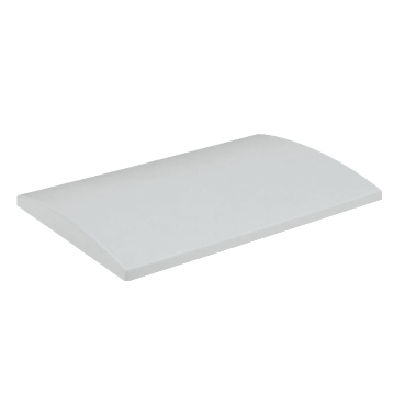 NSYTJPLA53G - Polyester canopy for PLA enclosure W500xD320 mm - RAL7035, Schneider Electric