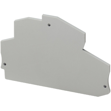 NSYTRACRE24 - NSYTR end cover for spring double-level terminal block 1x1 - 2.5mm?, Schneider Electric (multiplu comanda: 50 buc)