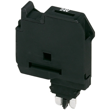 NSYTRASF520B - Fuse Carrier for 5x20 mm fuse, 6,2mm width, with light indicator 12-30 V AC/DC, Schneider Electric (multiplu comanda: 10 buc)
