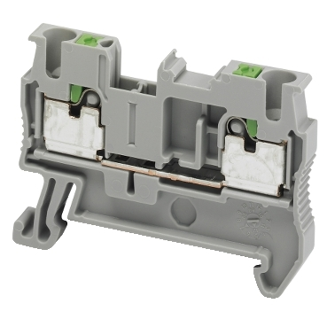 NSYTRP22 - Linergy passthrough terminal block - 2.5mm? 24A single-level 1x1 push-in - grey, Schneider Electric (multiplu comanda: 50 buc)