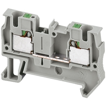NSYTRP42 - Linergy passthrough terminal block - 4mm? 32A single-level 1x1 push-in - grey, Schneider Electric (multiplu comanda: 50 buc)