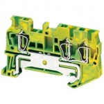 NSYTRR23PE - Linergy earth terminal block - 2.5mmp single-level 1x2 spring - green-yellow, Schneider Electric (multiplu comanda: 50 buc)