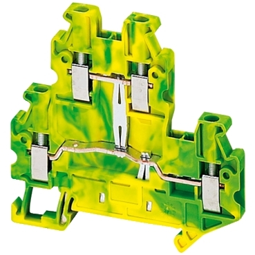 NSYTRV24DPE - Linergy earth terminal block - 2,5mm? double-level 1x1 screw - green-yellow, Schneider Electric (multiplu comanda: 50 buc)