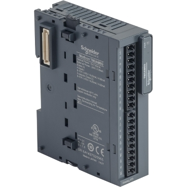 TM3AM6G - module TM3 - 4 analog inputs and 2 analog outputs spring, Schneider Electric