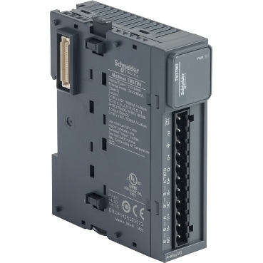 TM3TM3 - module TM3 - 2 temperature inputs and 1 analog output, Schneider Electric