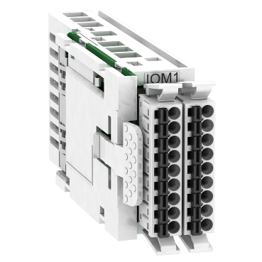 VW3M3302 - additional analog and digital inputs and outputs with spring terminals, Schneider Electric