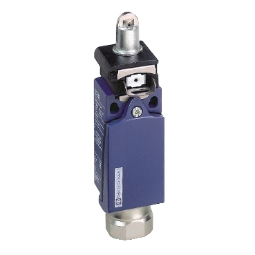 XCDR3902G13 - limit switch XCDR - steel roller plunger - 1NC+1NO - snap - Pg13, Schneider Electric