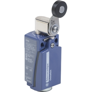 XCKD2118G11 - limit switch XCKD - thermoplastic roller lever - 1NC+1NO - snap - Pg11, Schneider Electric