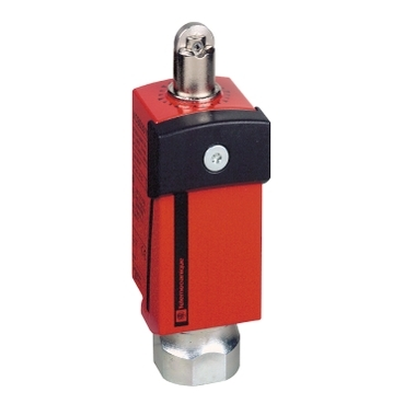 XCSD3702G13 - safety limit switch - metal - roller plunger - 2NC+1NO - 1 entry tapped Pg 13.5, Schneider Electric