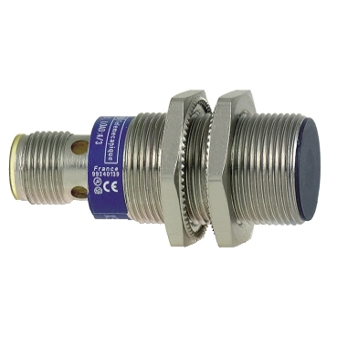 XS1N18PB349D - inductive sensor XS1 M18 - L50mm - brass - Sn10mm - 12..24VDC - M12, Schneider Electric