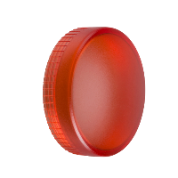 ZBV014 - red plain lens for circular pilot light diametru 22 with BA9s bulb, Schneider Electric (multiplu comanda: 10 buc)