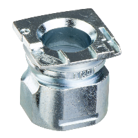 ZCDEP20 - cable gland entry - M20 x 1.5 - for limit switch - metal body, Schneider Electric